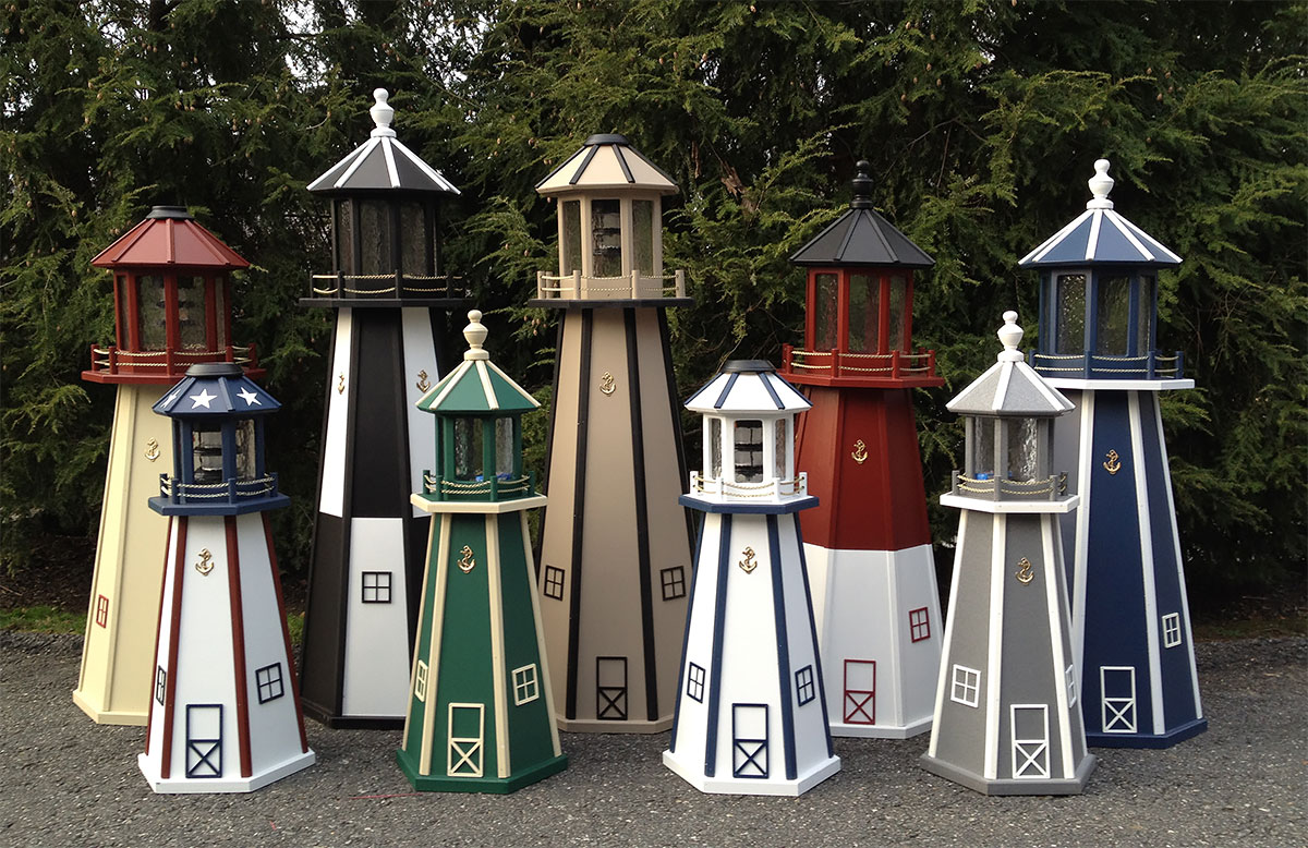 Keystone Woodworking lighthouses